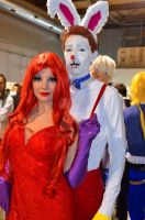 Roger and Jessica Rabbit by KillerGio