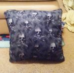 Glittery pirate pillow! by Annnoel