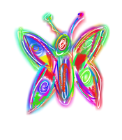 Rainbow butterfly:) by Fran48