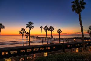 San Clemente Pier by JJohnsonPhotography