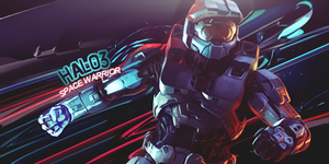 Futuristic HALO tag by Defaaa