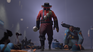 Skulled Pyro by Hellhounds04