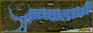 istanbul map by mahlukat