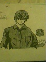 Light Yagami from Death Note by captonstu