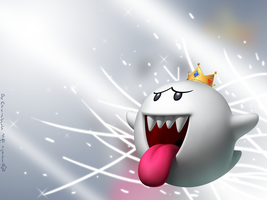 King Boo Wallpaper by Chivi-chivik