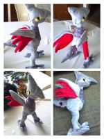 Skarmory plush by LRK-Creations