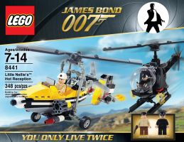 James Bond lego set 5 by Jeffach