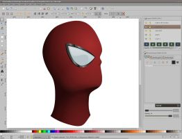 Vector Spidey progress - pt2 by dphase