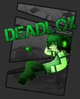 Deadlox fanart by DragonsPainter