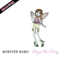 Monster High Contest - Faye the Fairy by pyroteddy123