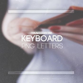 Keyboard Buttons // .PNG by FranceEditions