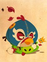 Angry Birds by lucianofr32