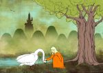 Princess ant the Swan by Gogolle