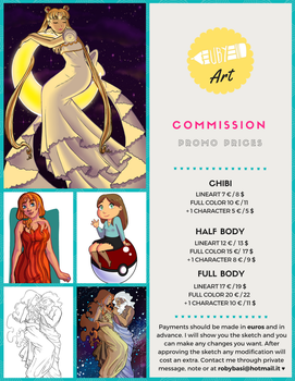 COMMISSION OPEN - discount prices by Uby-Art