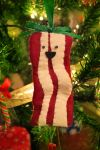 Bacon Christmas Ornament by sererena