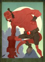 Hellboy: Big Red by RevDenton