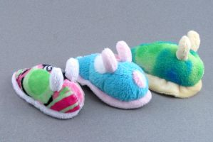 Sea Slugs - For Sale by Patchwork-Shark