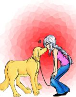 Mans best friend... by the-suns-moon