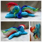 Rainbow Dash Beanie - Simple by equinepalette