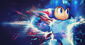 Mega Man Super Smash Brothers Sig by Crazed-Artist