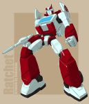 Ratchet Animated G1 color by bokuman