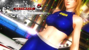 Dead or Alive 5 Ultimate - Battle Cage by Primus-Prime-Time