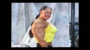 Female muscle morph video by GoodolLudwigVan