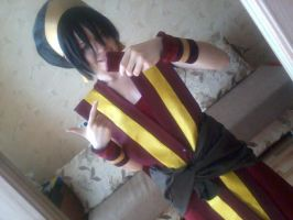Toph FireNation WIP by TophWei