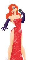 Jessica Rabbit by DesEmeraudes