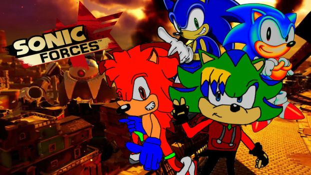 Sonic Forces: The new recruits for the job! by KaiWalkerHere
