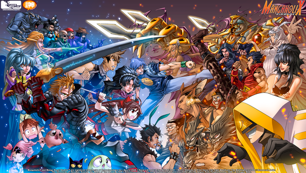 Mangaholix Clash of the Titles by ComiPa