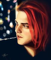 Beautiful Gerard Way by LUCKYDEMONGIRL