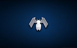 Wallpaper - Venom 'Mark Bagley Style' Logo by Kalangozilla