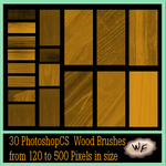 Re: Any wood texture brushes by WebFoot