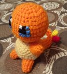 Crochet Charmander by DuctileCreations