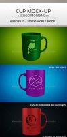 simple Cup Mock up PSD by Ghostestudios
