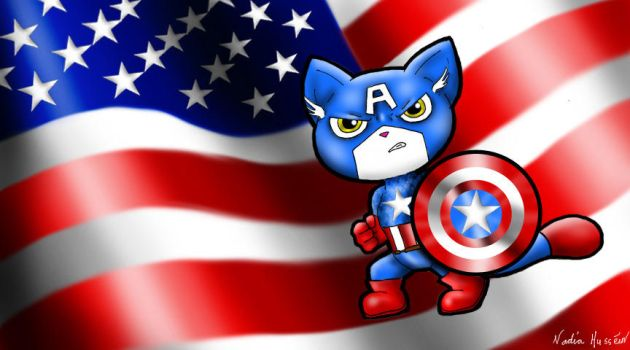 Captain AmericaT by Nadz007