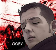 OBEY by randomINKstudios