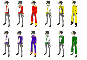 HSR- Male Uniforms by Maki121