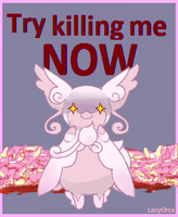 Oh shit it's audino by LazyOrca