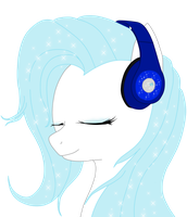 Snowy's Headphones by Spartkle