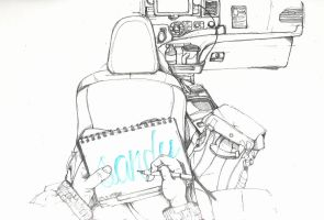 In taxi. by SUED053