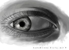 Eye Sketch by KarmaWhisper