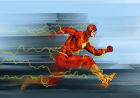 The Flash IMS by VincentBryantArt