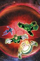 GREEN LANTERN ANIMATED BOOK #12 cover color by DarioBrizuelaArtwork