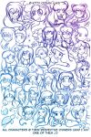 So many characters by kittyocean