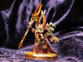 Ahriman the sorcerer Front by Minetroll