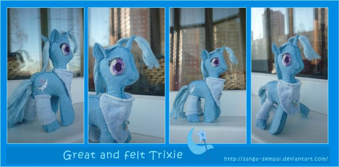 Trixie plush 6 inches by Sanga--sempai