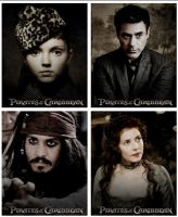 Caribbean Tales - Main characters posters. by Alice91