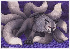 Nine Tails by Elkenar